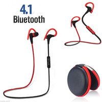 best music earbuds - Wireless Sports Stereo Bluetooth Earphone Headphone Earbuds Headset For Samsung For iPhone s V4 Music Call Tracking No Best Gift