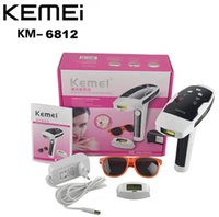 Wholesale KEMEI KM Photon Hair Removal Device Laser Epilator Permanent hair reduction for full Body Hair Removal Laser Epilator