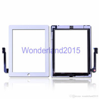 Wholesale 20 touch screen digitizer for ipad for ipad mini front glass with flex