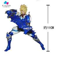 action wells - Kissen CM Game Toy The exile Riven Action Figure LOL PVC Figure Action Toy Well Packed Without Retail Box