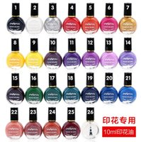 Wholesale Manicure printing oil ml painted nail polish nail polish color printing special genuine colors