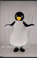 antarctic animals - Emperor Penguin Mascot Costume Deluxe Adult the Antarctic Animal Black Panther Cosply Costume Carnival Christmas Halloween party Mascot Cos