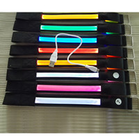Wholesale Hot Sale USB LED arm band Glow Flashing Visible LED Armband Belt Multi Colors Sports Festival Party Cool