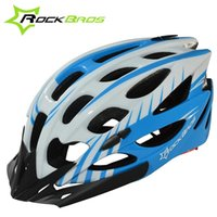 Wholesale ROCKBROS Ultralight Safety Bicycle Helmet Professional MTB Bike Cycling Helmet Cycling Protective Gear Freesize color