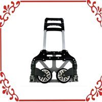 aluminium hand trolley - Collapsible Trolley Lage Push Truck Hand Aluminium Cart Folding Dolly lbs