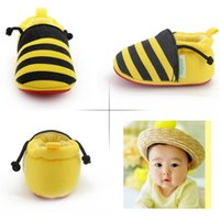 bee print fabric - Yellow Bees Baby Shoes For Moths For Baby Girls Factory Price