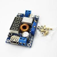 adjustable voltage regulators - Adjustable A CC CV Power Step down Charge Module LED Driver W USB Voltmeter