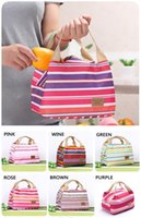 Wholesale 2015 New Canvas Ice Bags Outdoor Practical Small Portable Cooler Bag Lunch Bags Picnic Waterproof Pouch Organizer Bag