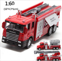 plastic model kits - 3 Style Fire Alloy Car Models Back Power Car Alloy Toy Music Car Kit Toy Manufacturers Batch