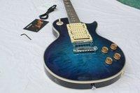 ace pickup - custom shop Ace Frehley Signature ocean blue qulit maple top mahogany body pickup electric guitar