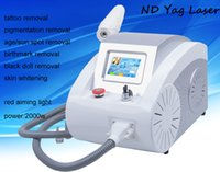 Wholesale ND Yag Q switch Laser Tattoo Removal Pigmentation Removal Beauty Machine Equipment