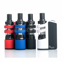 Wholesale 100 Original Tesla Stealth kit w Teslacigs Stealth full kit with LiPo battery mAh and teslacigs Shadow Tank
