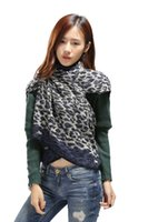 Wholesale Women s Winter Fashion Pashmina Cashmere Shawl Wraps Blanket Priting Scarf Stole Poncho Capes Cloak Cardigans Accessories