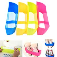 Wholesale Creative Adhesive Shoes Rack Wall Hanging Shoes Organizer Hanger Hook High Quality