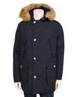Wholesale Men s W00 Arctic Artie Parka Winter Real Fur Trim Down Jacket Puffer Down Parkas Women Warm Slim Long