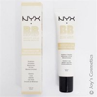 Wholesale 2016 Latest NYX BB Cream beauty balm baume beaute brightens smoothes moisturizes oil free Mineral Enriched ml Colors Free DHL
