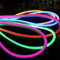 ac hot wire - Hot sale LED Neon Flex Strip Light AC220V SMD2835 LEDs M LED Neon Rope Light colors