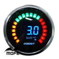 Wholesale Original Logo mm LCD Bar Turbo Boost Meter inch Auto Gauge for Car