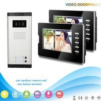 Wholesale multi apartment video door phone with inch screen intercomand night vision
