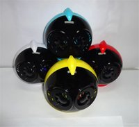 audio bird sounds - Angry Birds Flash Colorful Lights And Dual Speakers Bluetooth Speaker Diaphragm Cartoon Birds Head Sound Card Hifi Subwoofers Universal