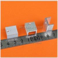 al radiator - REE Shipping x15x10mm Heatsink Aluminum Radiator Heatsink TO TO220 MOSFET radiation dosimeter radiator aluminum radiator al