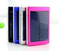 battery cheap laptop - Factory Price Cheap mAh Solar Battery LED Panel external Charger Dual mah solar Charging Ports colors choose for Laptop UPS