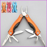 Wholesale 9 in Multifunction Folding Pliers Stainless Steel Multi Function Pocket Foldable Pliers Toolkit Outdoor Universal Tool