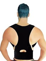 Cheap Custom Design Print Logo Medical-Grade Adjustable Magnetic Posture Support Back Brace - Relieves Neck, Back and Spine Pain Improves Posture