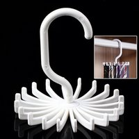adjustable closet organizer - Rotating Tie Rack Adjustable Tie Hanger Holds Neck Ties Organizer Men Fits All Closet Home