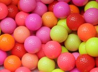 Wholesale 5PCS Colorful Golf Game Ball Two Layers High Grade Golf Ball Direct Manufacturer Promotion Golf Balls