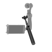 axis camera wireless - 2016 Original DJI Extension Stick Telescoping Design For Osmo Handheld K Camera and Axis Gimbal Part Black Hot selling