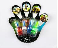 african lamp - Luminous Christmas toys for children LED flash ring Finger lamp