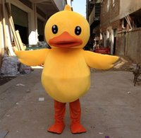 big rubber duck - High Quality and Adorable Big Yellow Rubber Duck Mascot Costume Cartoon Performing Adult Size