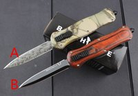 acting camps - The new butterfly knife A166 double acting C blade hunting camping survival tool pocket knife EDC