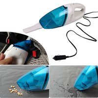 Wholesale Car Auto Portable W V Car Vacuum Cleaner Handheld Mini Super Suction Wet And Dry Dual Use Vacuum Cleaner order lt no track