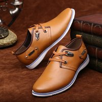 Wholesale 2016 New England summer ventilation business casual shoes men s shoes wedding shoes dress shoes flat shoes
