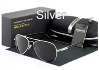 aluminum mercury - Driving Anti Glare Brand Polarized Sunglasses Mercury coated anti reflection Aluminum magnesium alloy frame outdoor fishing glasses Gift box