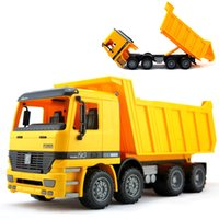 big sandbox - 36cm Big Size Beach Transport Toys Children Inertia Tipper Truck Transport Car Model Sandbox Vehicle