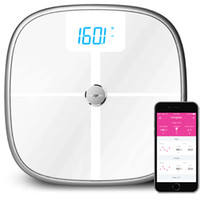 Wholesale Koogeek Smart Health Digital Scale Bluetooth Wi Fi Sync Measures Muscle Bone Mass BMI BMR and Visceral Fat Weight Body Fat Water lb kg