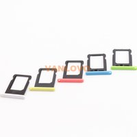 Wholesale 20x For iPhone C Nano SIM Card Tray Slot Holder Blue Green White Pink Yellow
