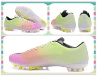 ag products - New Product New Style Soccer Shoes Boots Men s Mercurial Victory V TF AG boots Pink Yellow White Football Boots Sneakers Running Shoes