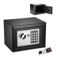 Wholesale 0 CF Digital Electronic Keypad Lock Safe Box Home Security Box for Office Hotel Gun Jewelry Black and White