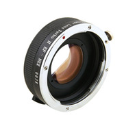 Wholesale Zhongyi Turbo II Focal Reducer Booster Adapter for Canon EF EOS Lens to Sony E NEX