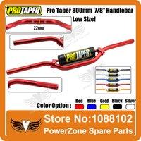 Wholesale Pro Taper Bar Aluminum Alloy Length mm Diameter mm quot Motorcycle Cross Dirt Pit Bike Handlebar