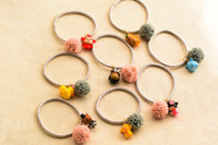 Wholesale Sweet Hair Clips For Girls Hair Rubber Bands Floral Flower Animals Decoration Personality Cartoon Hair Ropes