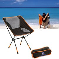 Wholesale Portable Folding Camping Stool Chair Seat Backpack for Fishing Picnic BBQ Beach