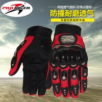 Wholesale Pro Biker Gloves Full Finger Motorcycle Gloves spring and summer Motorbike Racing suvs Knight Gloves All Breathe Freely