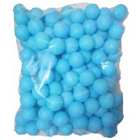 Wholesale Diameter cm bag PP ball pits blue no printing word good hardness decoration ball not for training as tennis balls