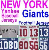 Cheap American Football Baseball Jersey NY Women Kid Giants Eli Manning Jersey Authentic Sports Jerseys China Odell Beckham Jr Jersey