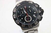battery formulas - Special Sale Tag Brand Quartz Watch Men Black Dial Number Case Silver Skeleton Stainless Steel Band Calibre Formula Clock Free Ship Hk